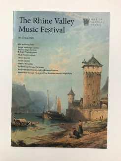 Martin Randall Travel Music Festival Brochures - 8th September 2017 - Deachy 9