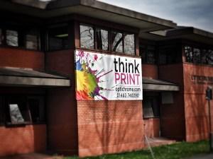 Think Print Banner