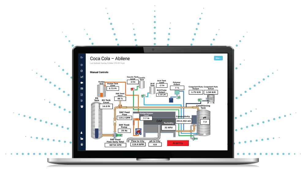 Opticlear Manual Controls