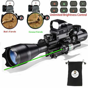 XOPin Rifle Scope Combo C4-16x50EG