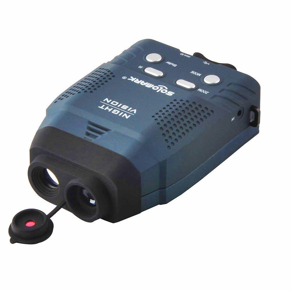 Solomark Night Vision Monocular- Records Images and Video Review