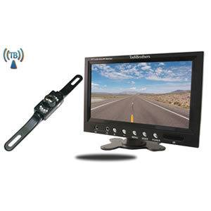 TadiBrothers 7 Inch Monitor with Wireless License Plate Backup Camera Review