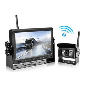 Wireless Backup Camera and Monitor Kit Reverse Rearview Cam Digital Signal 2018