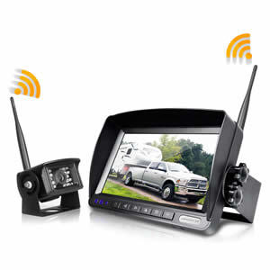 ZEROXCLUB Digital Wireless Backup Camera System Kit