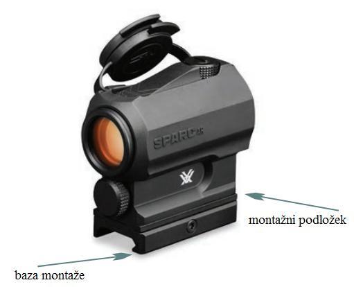 Rdeče pike Vortex Sparc AR navodila za uporabo
