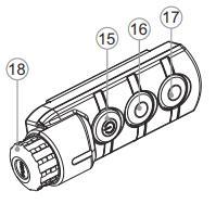 Termalni monokular Helion XQ19F, XQ30F, XQ38F, XQ50F navodila za uporabo