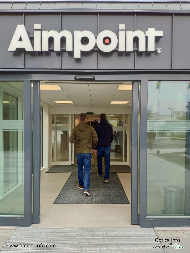 obisk tovarne Aimpoint