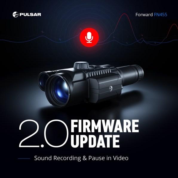 Posodobitev za Pulsar F455/FN455 2.0
