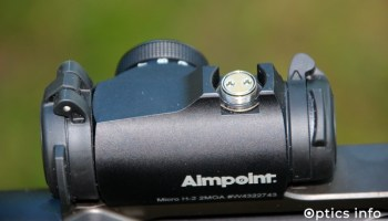 Nastrelitev Aimpointovih rdečih pik