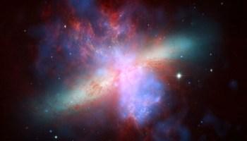 Ali je galaksije mogoče videti skozi teleskop?