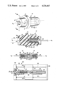 US 4526467 A – Apparatus and methods for testing lens structure