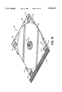US 5782347 A – Box container systems and display frames with multiple view optics