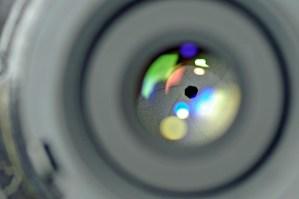 Lens aperture camera lens