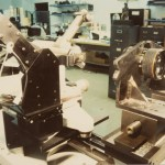 Another view of Optikos' first MTF system installation - 1986