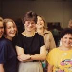 Sue Metzinger, Richardine O'Brien, Theresa White
