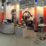 Laser Munich 2015, booth setup with Dave Biss and Will Rusin