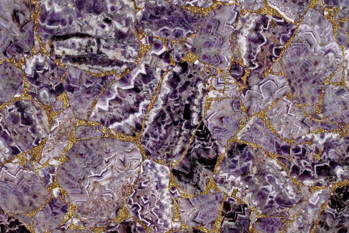 Amethyst Medium Preciousgold Precioustone