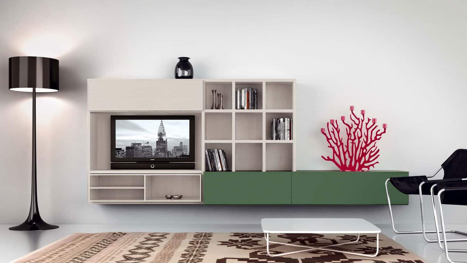 meuble tv suspendu salon optimal annecy