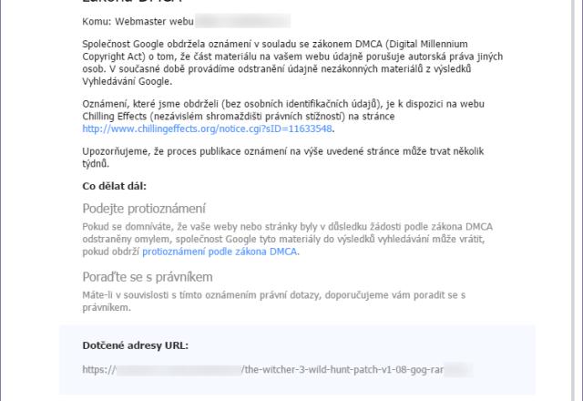 Porušení DMCA