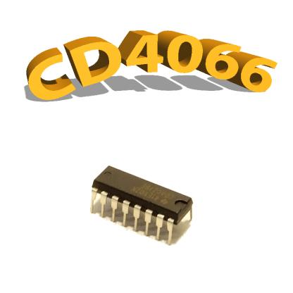 CD4066BE - Commutateur bilatéral, 3 V à 15 V, DIP-14 , CD4066, 4066
