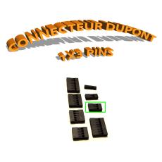 Connecteur Dupont 1x3 Pins