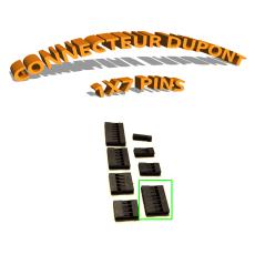 Connecteur Dupont 1x7 Pins