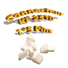 Connecteurs KF2510 5 Pins femelle