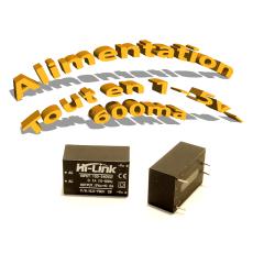 Alimentation 220v/5v 600ma HLK-PM01