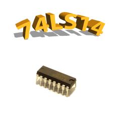74LS14 - Inverseurs - DIP14