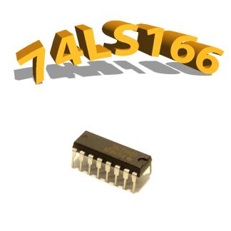74LS166- Porte logique NOR- DIP14