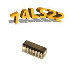 74LS22- Porte logique NAND- DIP14