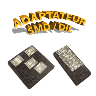 Adaptateur SIL / DIL - SMD / DIL