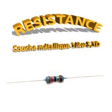 Résistance 5,1 ohm métallique
