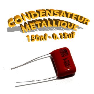 Condensateur à film 150nF 0.15uf 630V