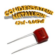 Condensateur à film 47nF 0.047uf 630V