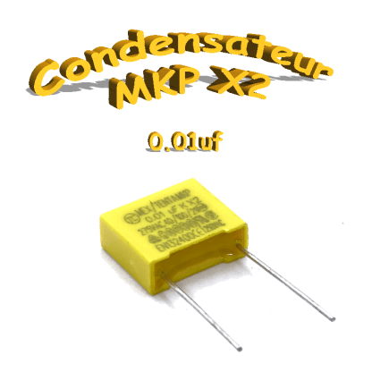 Condensateur polypropylène MKP 0.01uf
