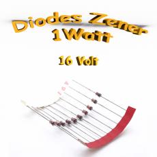 Diode Zener 16V - 1W - 1N4745A