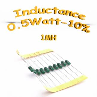 Inductance 1MH - Inductor 1MH 0,5w