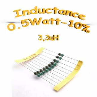 Inductance 3.3uH - Inductor 3.3uH 0,5w 10%