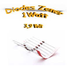 Diode zener 3V9 - 1W - 1N4730A
