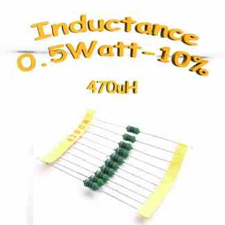 inductance 470uH - Inductor 470uH 0,5w 10%