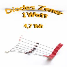 Diode zener 4V7 - 1W - 1N4732A