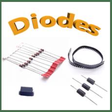 Diodes zener , schottky, cms, traversante, redressement