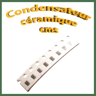 Condensateur céramique cms