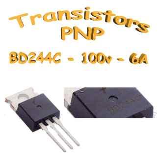 BD244 - Transistor PNP - 100v - 6A - 65w