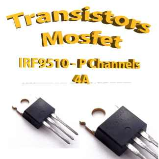IRF9510 - Mosfet P - 100v - 4A - To220 - 50w