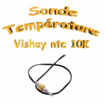 Sonde température - NTC 10kohm 3% submersible - +25 à + 85 °C
