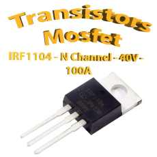 IRF1104 - Mosfet P - 40v - 100A - To220 - 170w