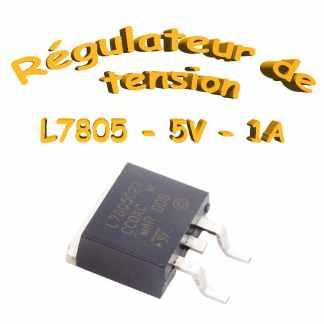 L7805 - Régulateurs de tensions 1A - D-PAK