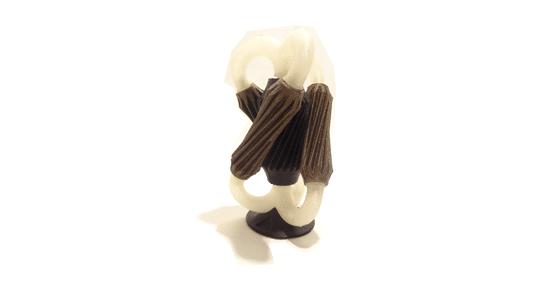 engrenages imprimé en 3D
